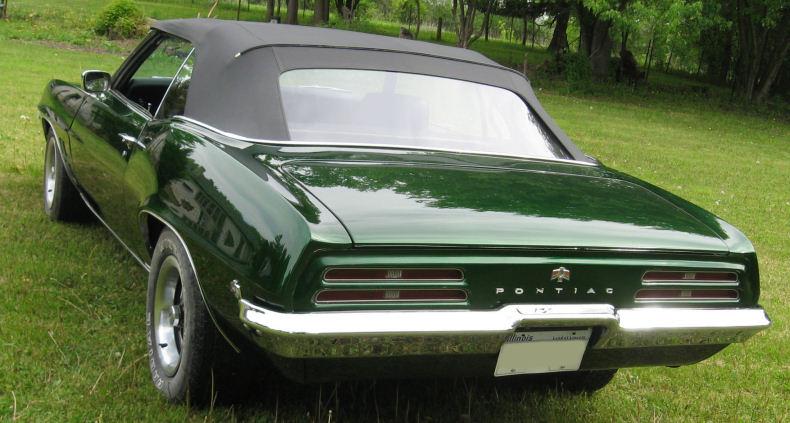 1969 Pontiac Firebird Convertible 455